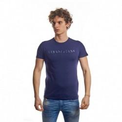 Armani Jeans T-shirt Blauw Heren