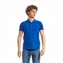 EA7 Poloshirt elektrisch blauw Heren